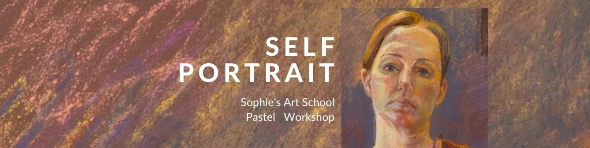 Workshop Self Portrait in Pastel